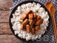 Рецепта Пиле Адобо - печено пиле по филипински с чесън, соев сос и мед